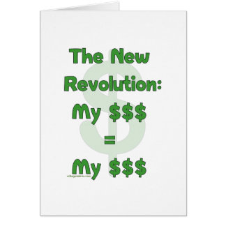 My Money Is Mine Card