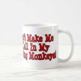 My Monkeys Classic White Coffee Mug