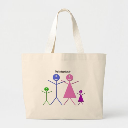 My Monster Family Canvas Bag