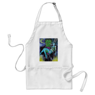 My Monster My Bride Adult Apron