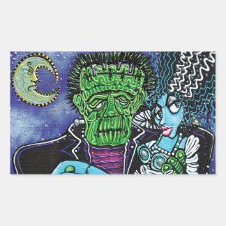 My Monster My Bride Rectangular Sticker