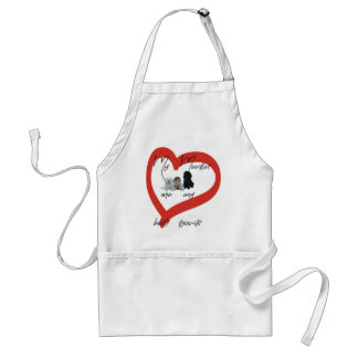 My Moodles are my Best Friends Adult Apron