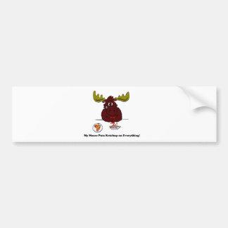 My Moose Bumper Sticker