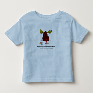 My Moose with Ad Toddler T-Shirt