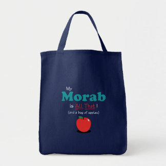 My Morab is All That! Funny Horse Canvas Bag