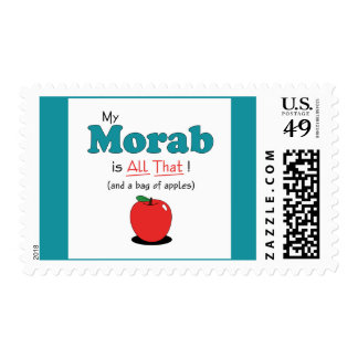 My Morab is All That! Funny Horse Stamp