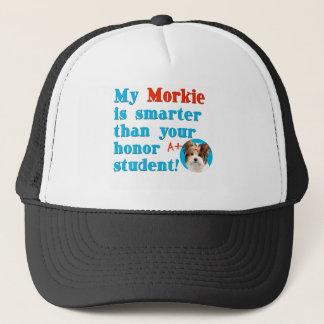 My morkie is smarter copy trucker hat
