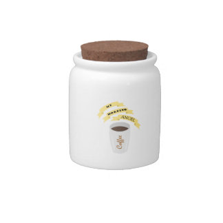 My morning angel candy jar