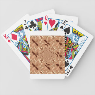 My Morning Coffee Colors Bicycle Playing Cards