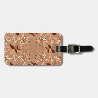 My Morning Coffee Colors Luggage Tag