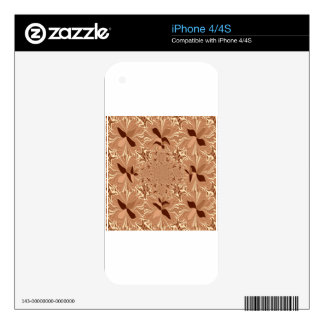 My Morning Coffee Colors Skin For iPhone 4S