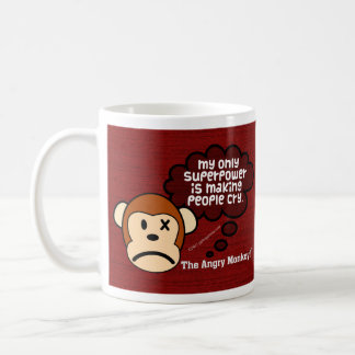 My most powerful superpower is making people cry classic white coffee mug