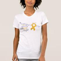 My Mother An Angel - Appendix Cancer T-Shirt