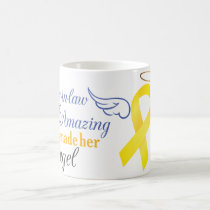 My Mother-In-Law An Angel - Bladder Cancer Coffee Mug