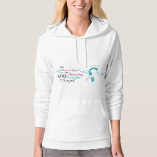My Mother-In-Law an Angel – Cervical Cancer Hoodie