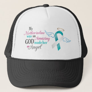 My Mother-In-Law an Angel – Cervical Cancer Trucker Hat