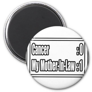 My Mother-in-Law Beat Cancer (Scoreboard) Magnet