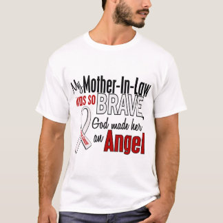 My Mother-In-Law Is An Angel Lung Cancer T-Shirt