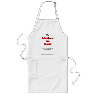 My Mother in Law wears combat boots (Apron)