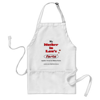 My Mother in Law's =7.9 0n the Richter Scale. Adult Apron