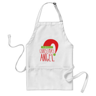 My Mother is a Christmas ANGEL funny Xmas design Adult Apron