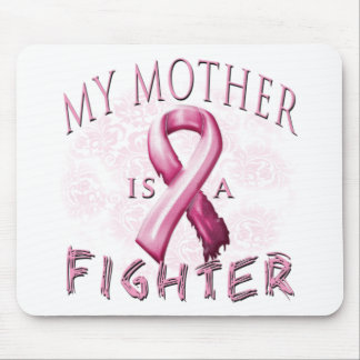 My Mother is a Fighter Pink Mouse Pad