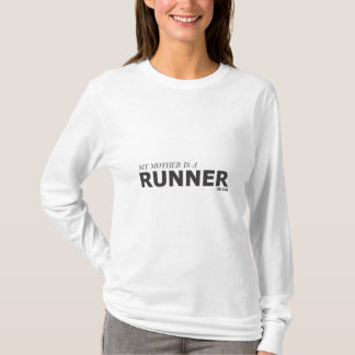 MY MOTHER IS A RUNNER 26.2mi/GYNECOLOGIC-OVARIAN T-Shirt