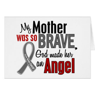 My Mother Is An Angel 1 Brain Cancer Card
