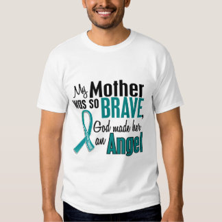 My Mother Is An Angel 1 Ovarian Cancer Shirt