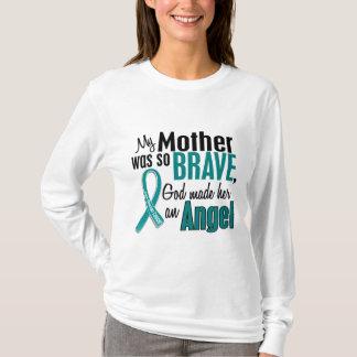 My Mother Is An Angel 1 Ovarian Cancer T-Shirt