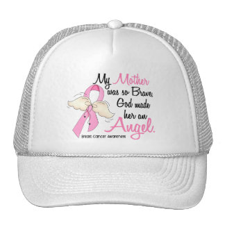 My Mother Is An Angel 2 Breast Cancer Trucker Hat