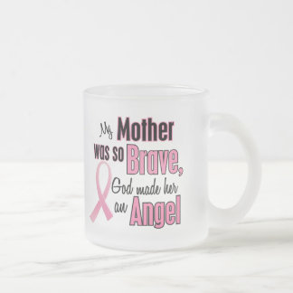 My Mother Is An Angel Breast Cancer Coffee Mug