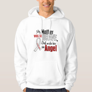 My Mother Is An Angel Lung Cancer Hoodie