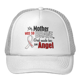 My Mother Is An Angel Lung Cancer Trucker Hat