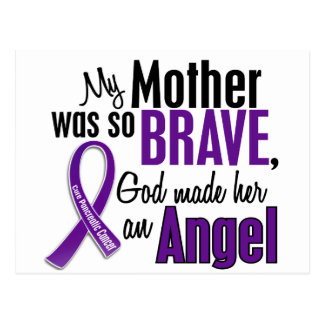 My Mother Is An Angel Pancreatic Cancer Postcard
