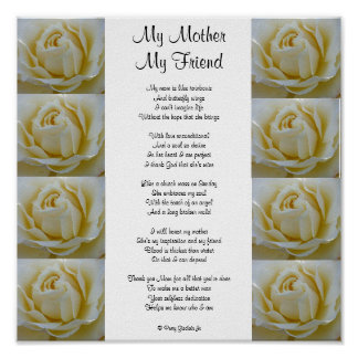 MY MOTHER MY FRIEND POSTER