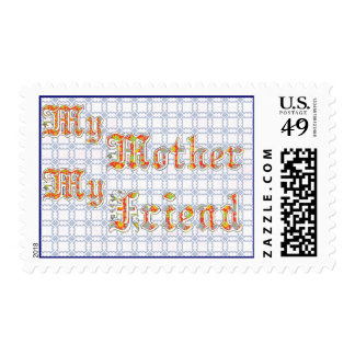 my mother my friend stamp