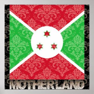 My Motherland Burundi Print