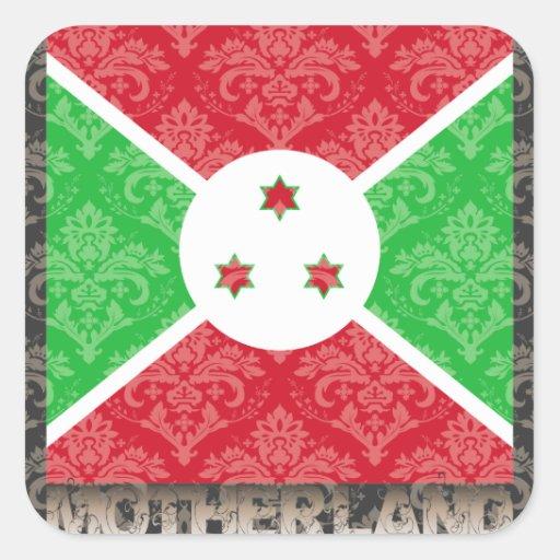 My Motherland Burundi Sticker