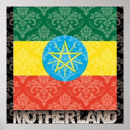 My Motherland Ethiopia Poster