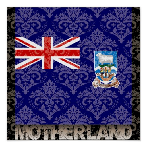 My Motherland Falkand Islands Poster