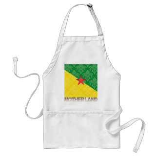 My Motherland French Guiana Adult Apron