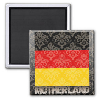 My Motherland Germany 2 Inch Square Magnet