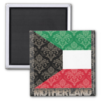 My Motherland Kuwait 2 Inch Square Magnet