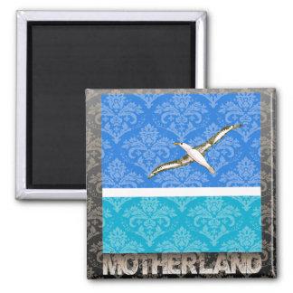 My Motherland Midway Islands Refrigerator Magnet
