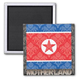 My Motherland North Korea Magnet