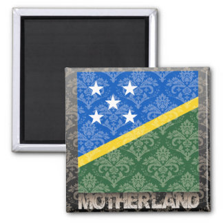 My Motherland Solomon Islands 2 Inch Square Magnet
