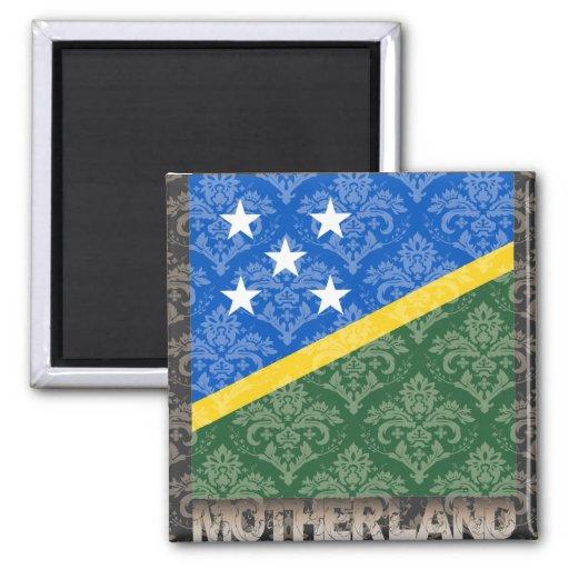 My Motherland Solomon Islands Magnets