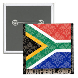 My Motherland South Africa Pinback Button