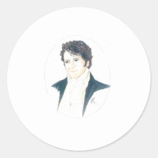 My Mr Darcy Classic Round Sticker